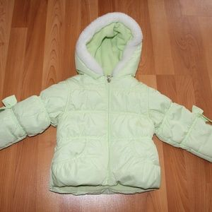 Protection System Girls Sz 12 M Puffer Jacket Coat